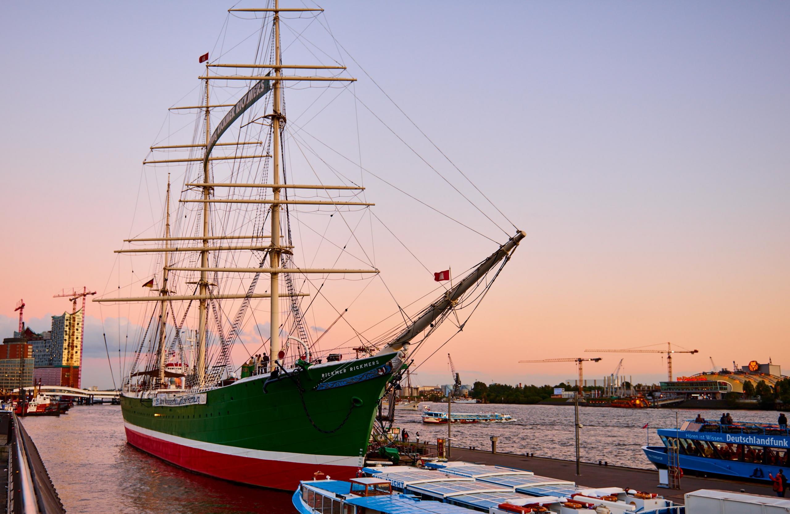 Hamburg Hafen Rickmer Rickmers
